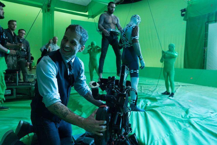 """Zack Snyder durante el rodaje de """"Liga de la Justicia""""."""