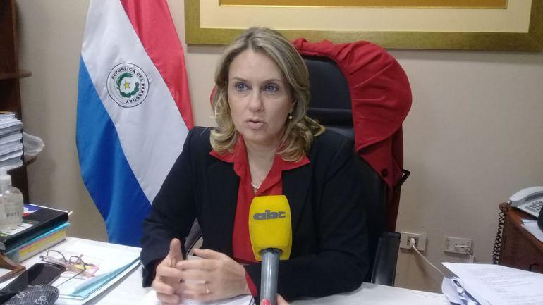 Diputada Rocío Vallejo, del Partido Patria Querida.