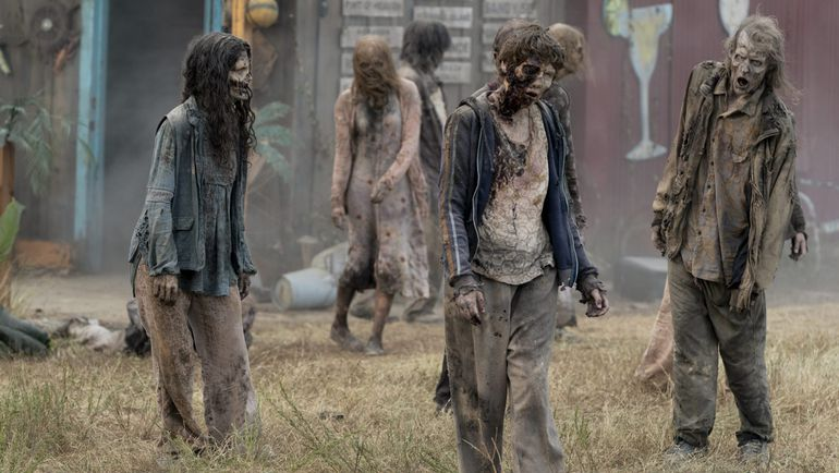 "Escena de a serie ""The Walking Dead""."