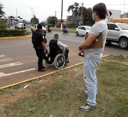 Roces entre agentes de Paraguay y Brasil.