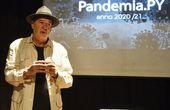 El cineasta Luis R. Vera presentó ayer un avance de su nuevo documental.