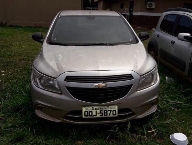 El automóvil Chevrolet Onix  que fue robado en Brasil fue entregado ayer a su legítimo propietario.