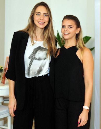 Gaby Cogorno y Ximena Stark.