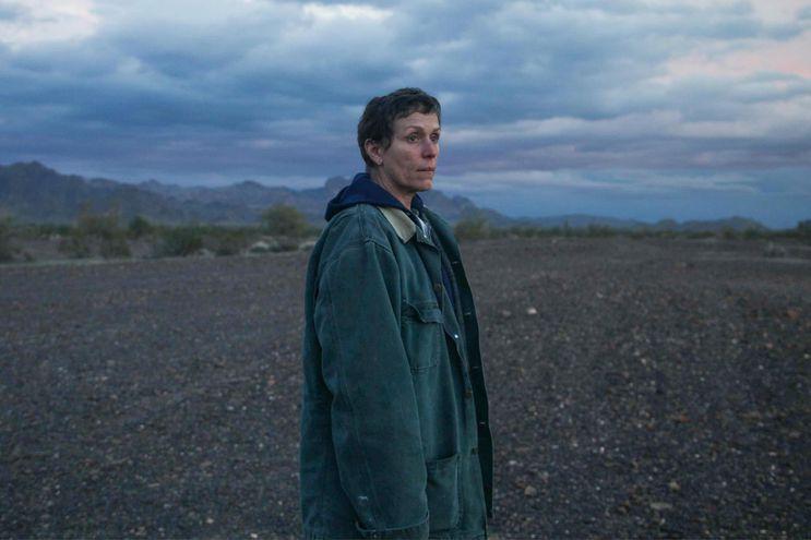 """Frances McDormand en una escena de """"Nomadland"""". El estreno en Paraguay está previsto para el 15 de abril."""