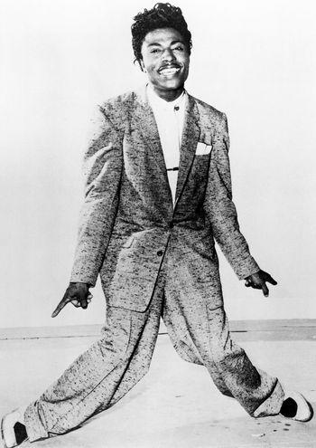 Little Richard fotografiado por Charlie Gillett.