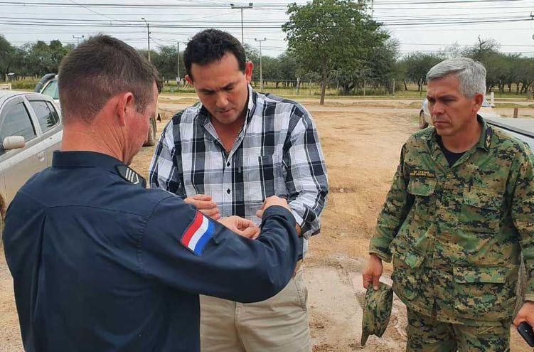 El veterinario Juan Casimiro Galeano Núñez se entregó hoy.
