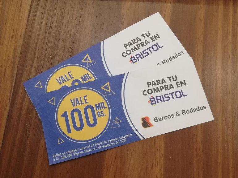 Mañana, en las estaciones Barcos & Rodados estarán disponibles estos vales.