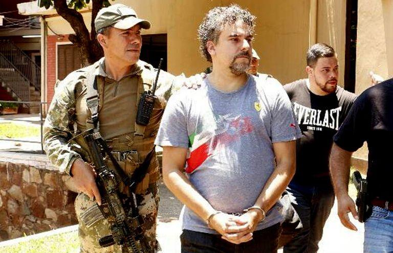 El narco Marcelo Pinheiro Veiga (48), alias Marcelo Piloto, actualmente recluido en una cárcel de máxima seguridad del Brasil. El criminal se expone a la pena máxima.