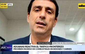 Aduanas reactiva el tráfico fronterizo, prohíben ingreso de combustibles