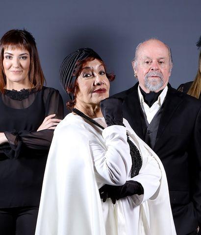 """Dani Willigs, Sifri Sanabria, Margarita Irún, José Luis Ardissone y Antonella Zaldívar prometen hacer reír y entretener al público con """"¡¿El funeral?!"""", una comedia acerca de la sobrenatural despedida de una actriz de cine y teatro."""