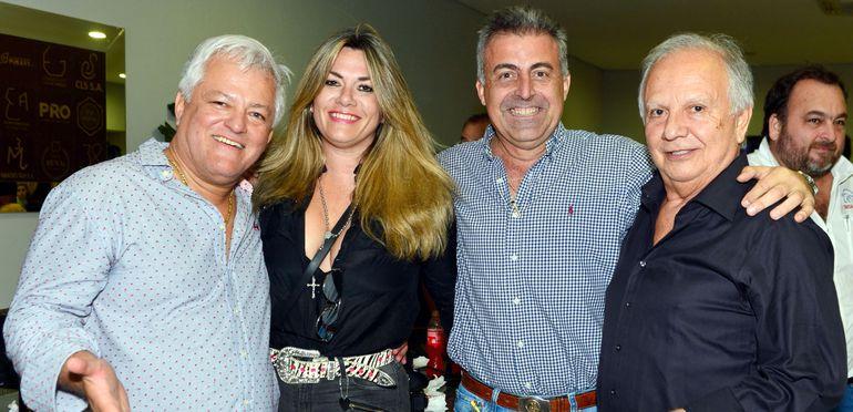 Armodio Arce, Patricia Ruiz Moreno, César Arreseigor y Felipe Giménez.
