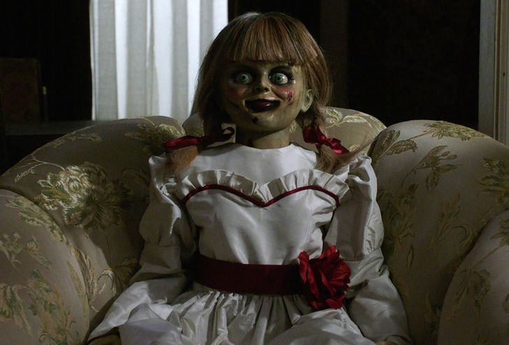 La muñeca Annabelle vuelve para causar pánico.