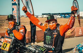 Kevin Benavides es el ganador del Rally Dakar 2021 en la categoría de motos.