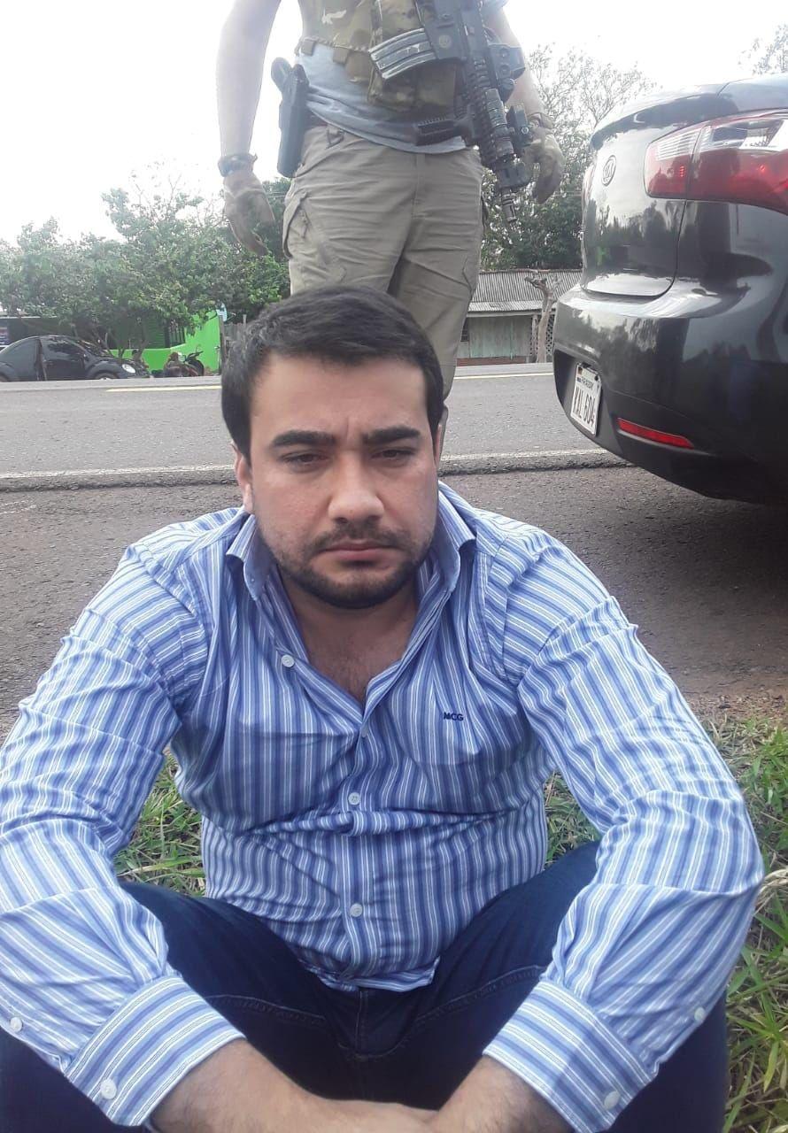 """Diego Armando Pedrozo, detenido en operativo """"Horse"""""""
