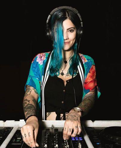 La DJ Amy Larry estará en bandejas en esta quinta edición de la fiesta.