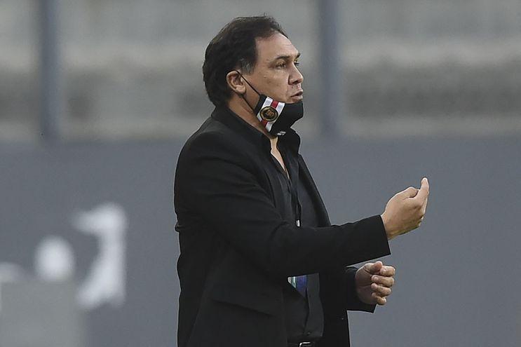 Celso Rafael Ayala, entrenador de River Plate.