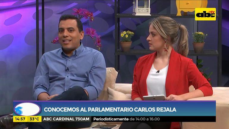 Conocemos al parlamentario Carlitos Rejala
