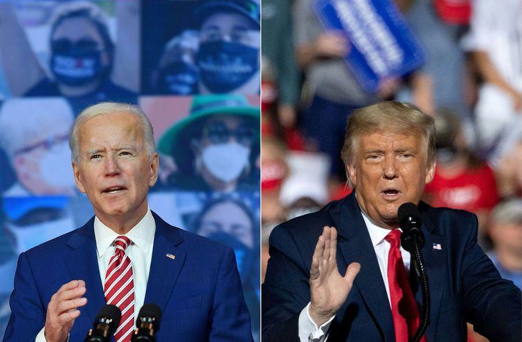 Primeros resultados confirman dura puja entre Trump y Biden en EE.UU. -  Mundo - ABC Color
