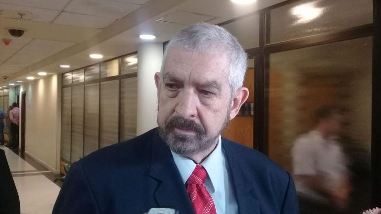 Miguel Kencho Rodríguez, nuevo senador que ocupará la banca dejada por Paraguayo Cubas.