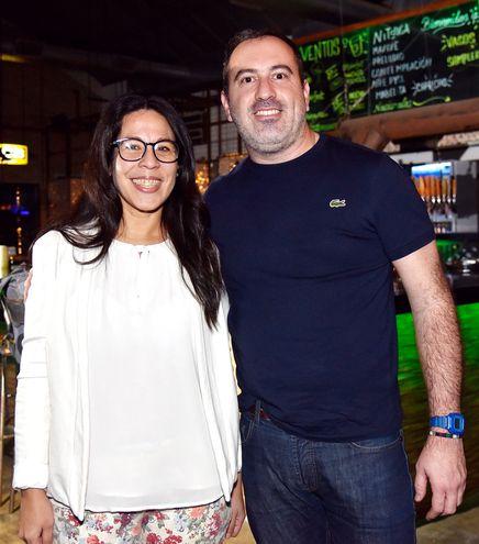 Adriana Vázquez y Jorge García.