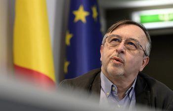 Yves van Laethem, portavoz del instituto belga de salud pública Sciensano.