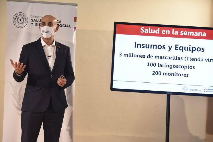 Ministro de Salud, Julio Mazzoleni.