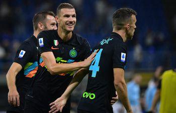 Inter de Milán goleó en el calcio.