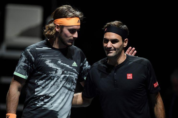 Tsitsipas derrotó en la semifinal a Roger Federer.