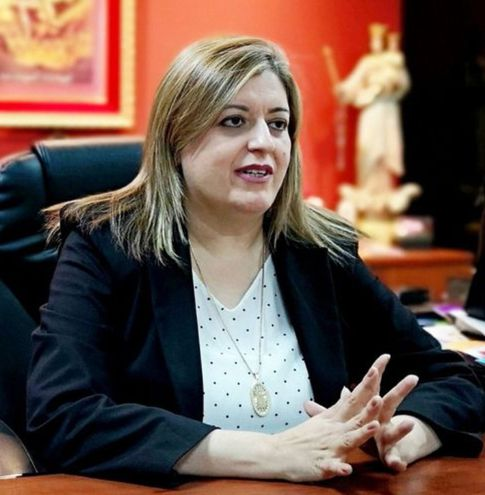 Sandra Quiñónez, fiscala general del Estado.
