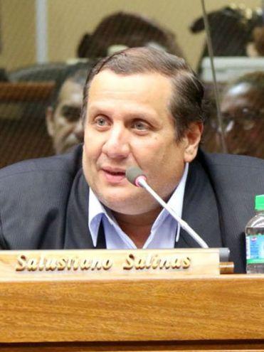 El diputado Salustiano Salinas (PLRA) no descartó que se vuelva a presentar el juicio político contra Abdo.