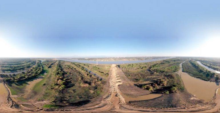 El puente Asunción-Chaco'i es la única obra que este Gobierno apuró para ejecutar en Asunción. Costanera Sur sigue esperando.