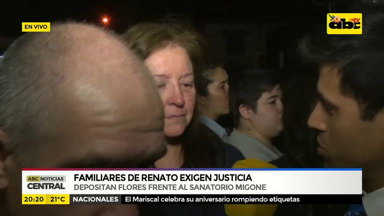 Familiares de Renato exigen justicia