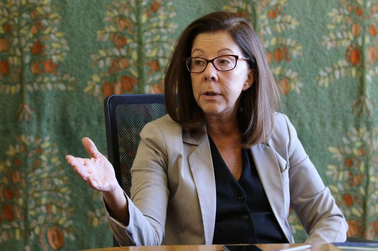 Eugenia Barthelmess, diretora do Departamento da América do Sul do Ministério das Relações Exteriores / Agência Brasil