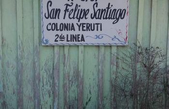 Escuela San Felipe y Santiago, Curuguaty