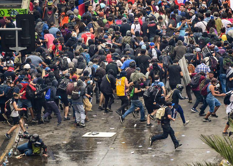 """Resultado de imagen para manifestaciones en chile"""""""