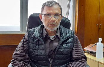 Ing. Leopoldo Melo, jefe paraguayo de la CHY.