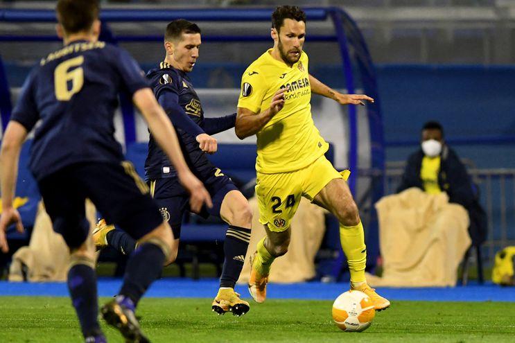 Villarreal derrotó de visitante al Dinamo Zagreb