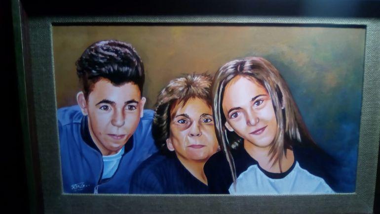 Un retrato realizado a pedido de unos amigos.