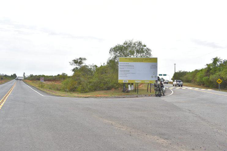 Uno de los tramos que unen el distrito de Itapé con Villarrica, Coronel Martínez y Borja.
