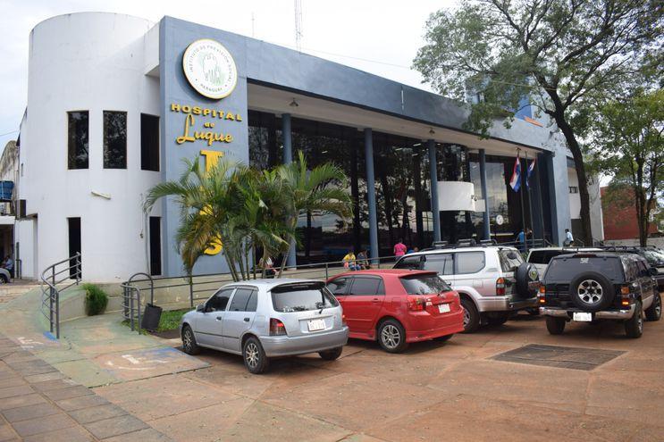 El Hospital de IPS en Luque es uno de los que reporta carencia de oxígeno por avería en planta proveedora en el Hospital Central.