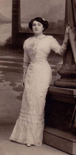 Pilar de Valderrama, la misteriosa mujer a quien Antonio Machado llamaba con el nombre de Guiomar.