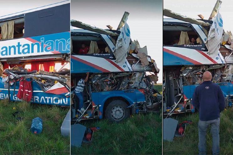 Accidente de tránsito en Argentina.