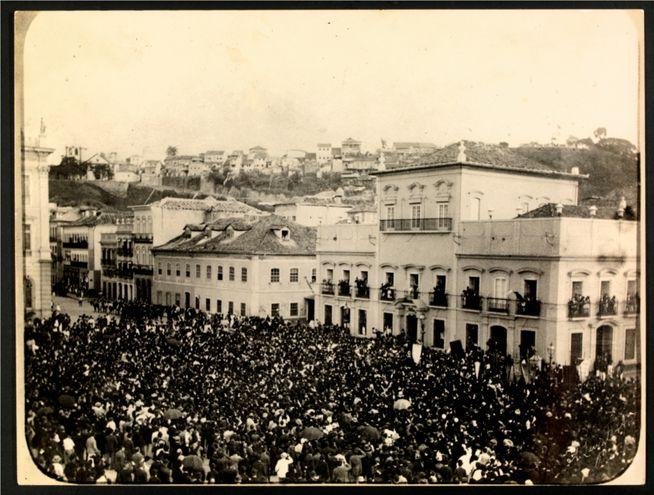Abolición de la esclavitud en Brasil, 13 de mayo de 1888.
