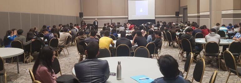 Más de 200 representantes de unos 100 colegios públicos y privados participaron del 4º Encuentro Nacional de la Federación Nacional de Estudiantes de Secundaria (Fenaes).