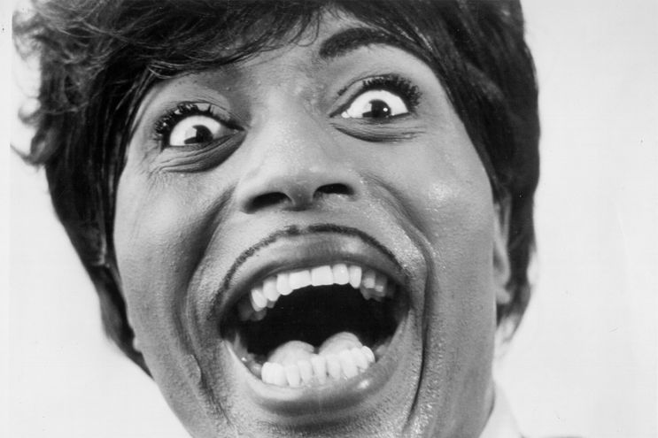 "Little Richard, el ""arquitecto del rock""."