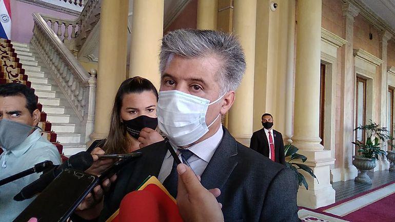Arnaldo Giuzzio, ministro del Interior.