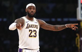 Golden State Warriors, LeBron James, Los Angeles Lakers, NBA.