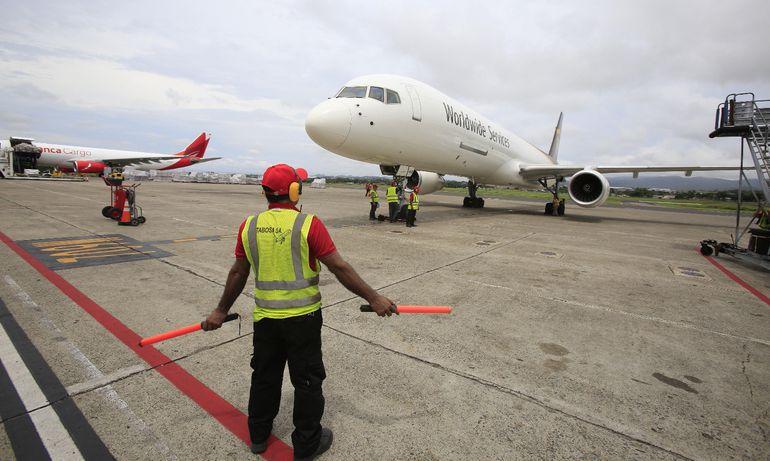 Aeropuerto de Tocumen, Panamá, desde donde Cruz Roja envió ayuda  a Bahamas.