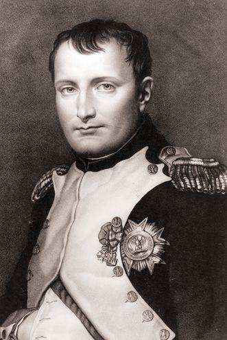Napoleón Bonaparte  (1769-1821), emperador francés.