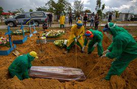 Brasil es en Sudamérica el país con más muertos por coronavirus.